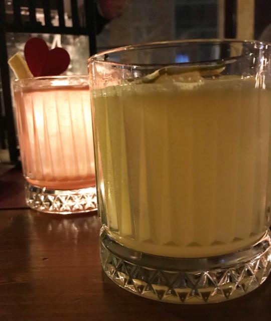 Vieux Carre' - Penicillin Cocktail