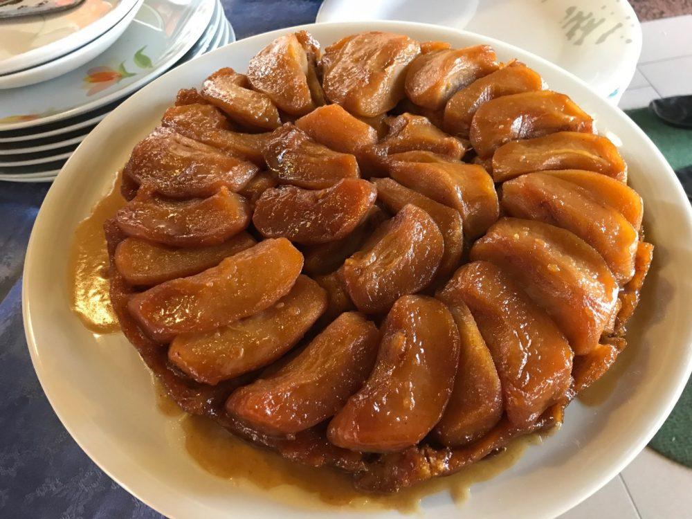 La Rava e la Fava, Biassono, tarte tatin di mele