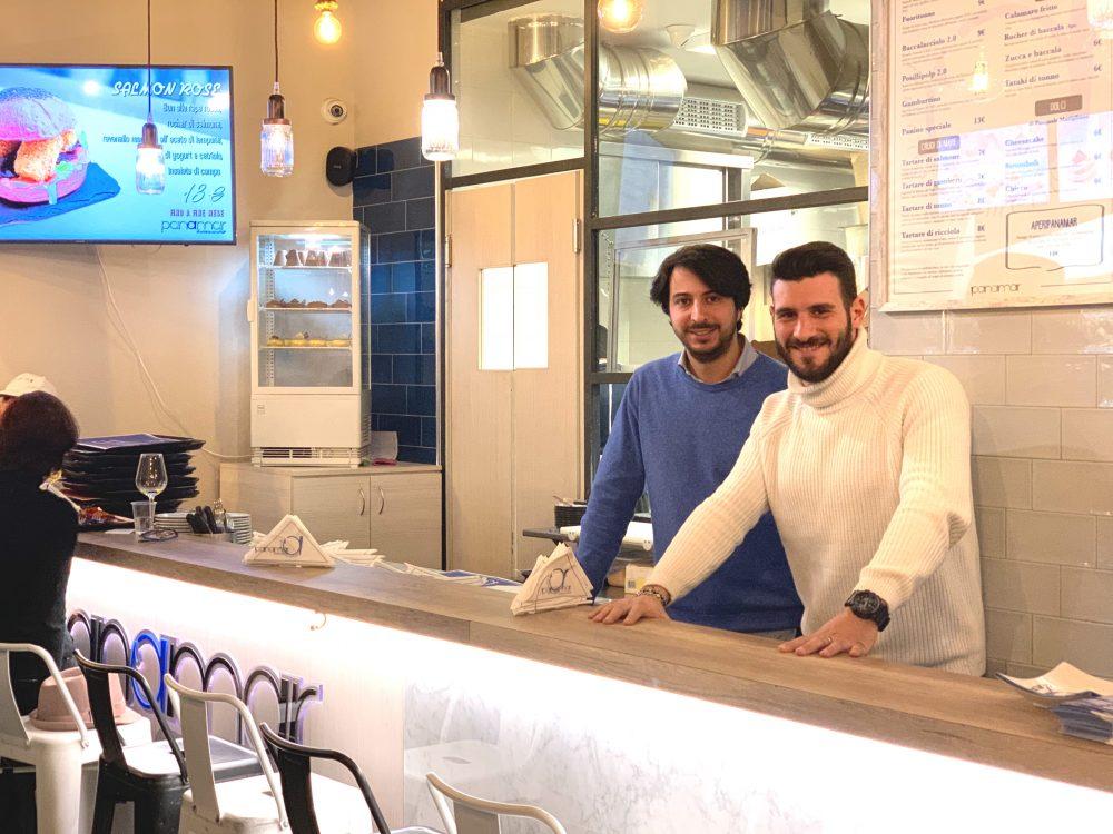 Marco e Stefano, soci Panamar