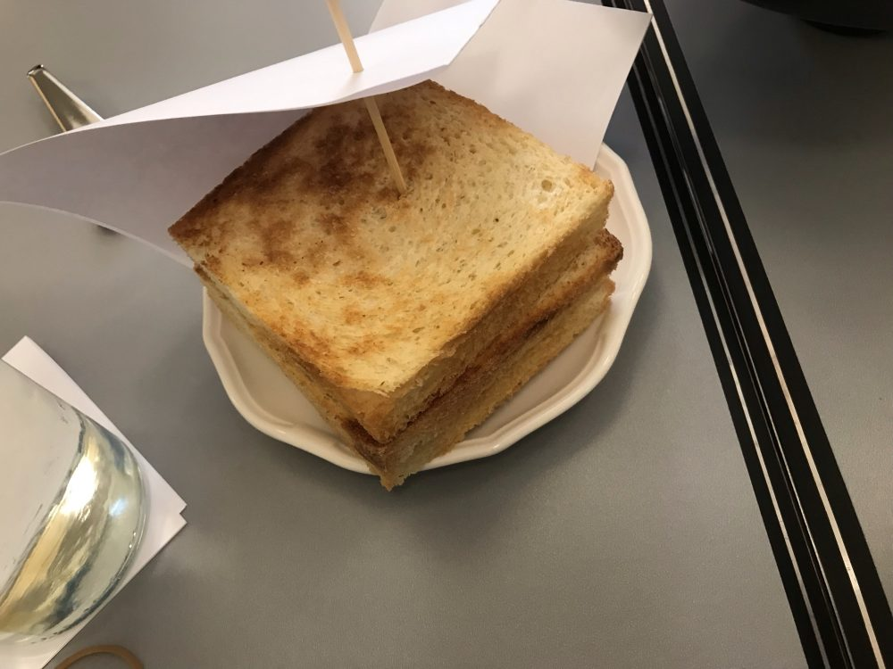 Al Portico, pane in cassetta tostato