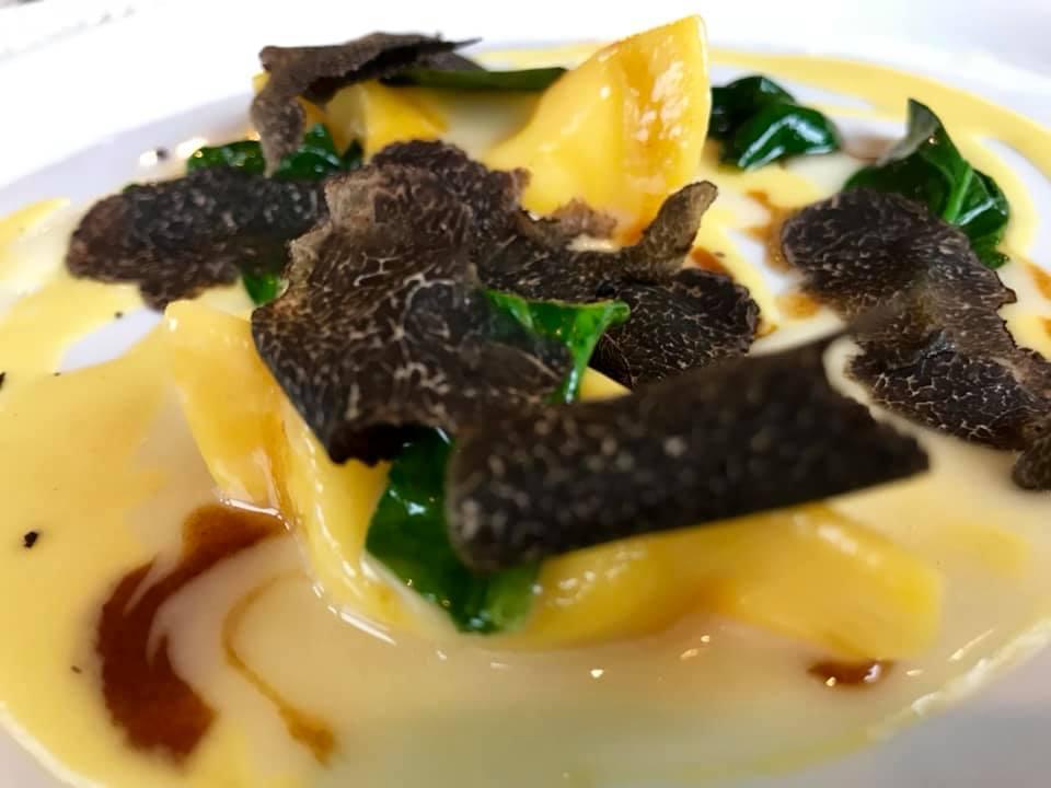 Da Vittorio - Casoncello con taleggio, mais e tartufo nero
