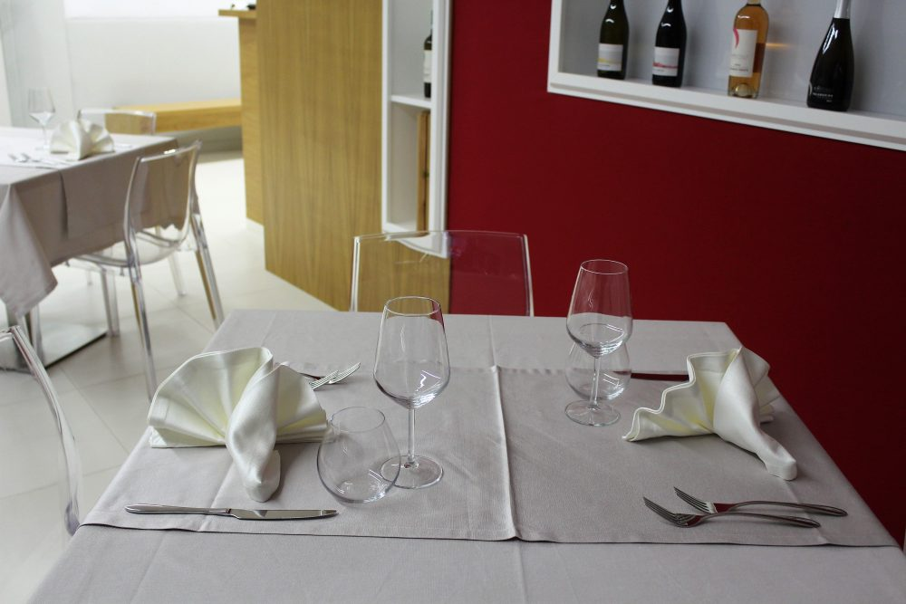Cantina Castelle – la sala degustazione con ristorante