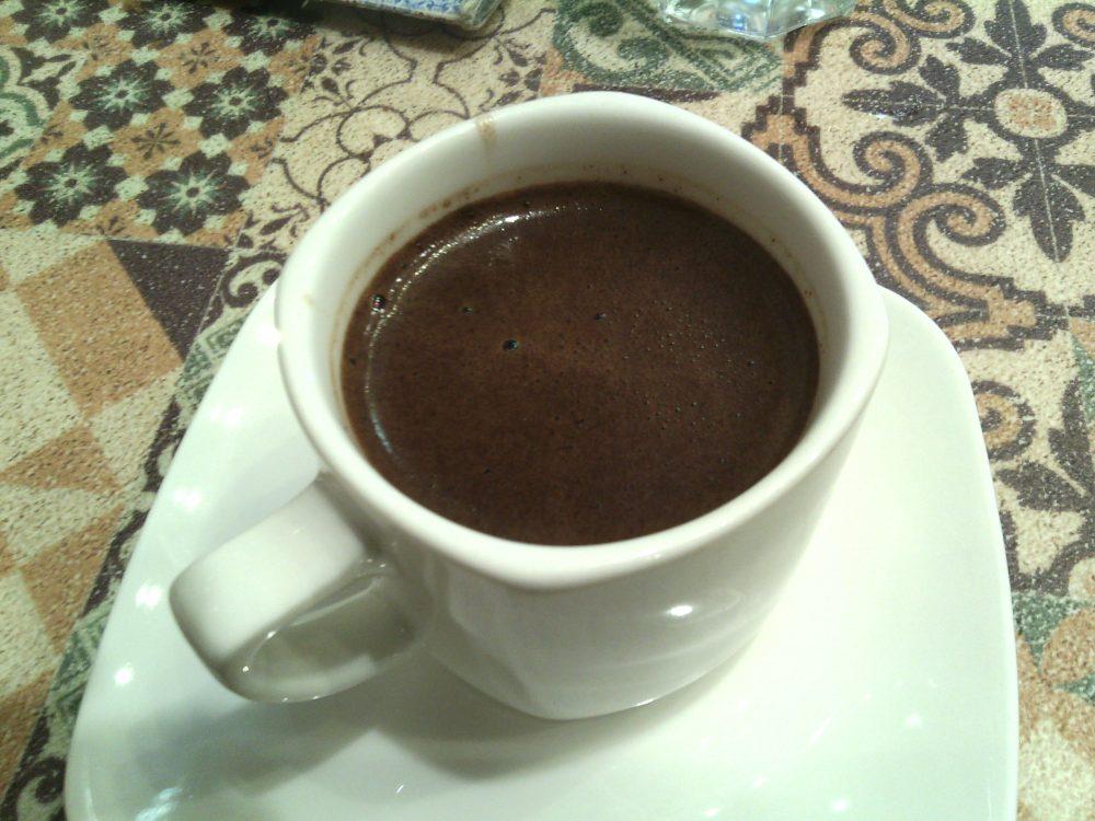 Naama cafe', Caffe' turco al cardamomo