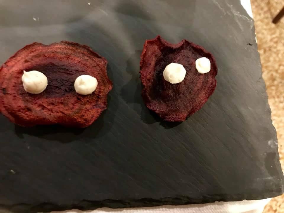 Trattoria Del Nuovo Macello - aperitivo con barbabietole