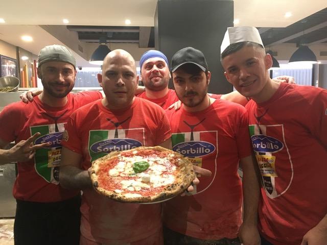 Gennaro Rapido, Fabio Pisani, Luigi Tedesco, Antonio Olmo, Edison Sula