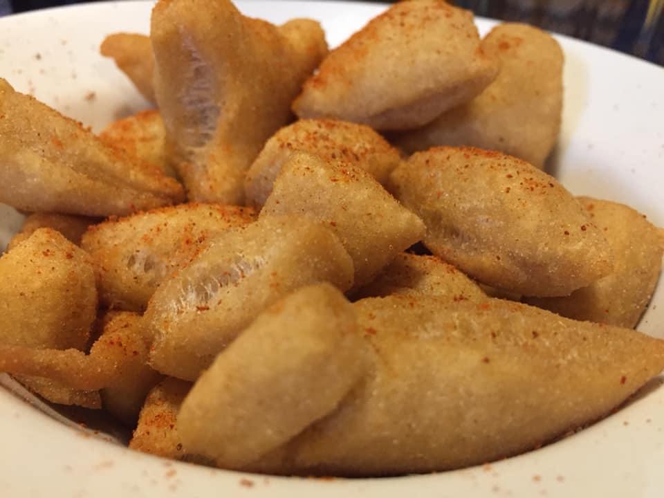 Incartata, gnocchi fritti