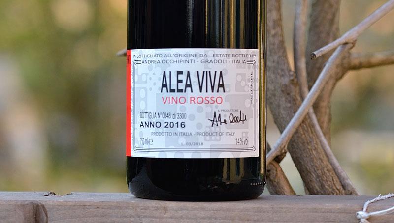 Alea Viva Rosso 2016 – Andrea Occhipinti