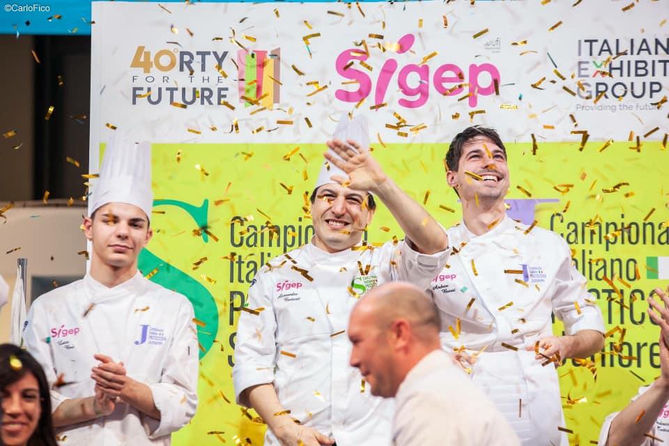 Alessandro Bertuzzi campione italiano di pasticceria