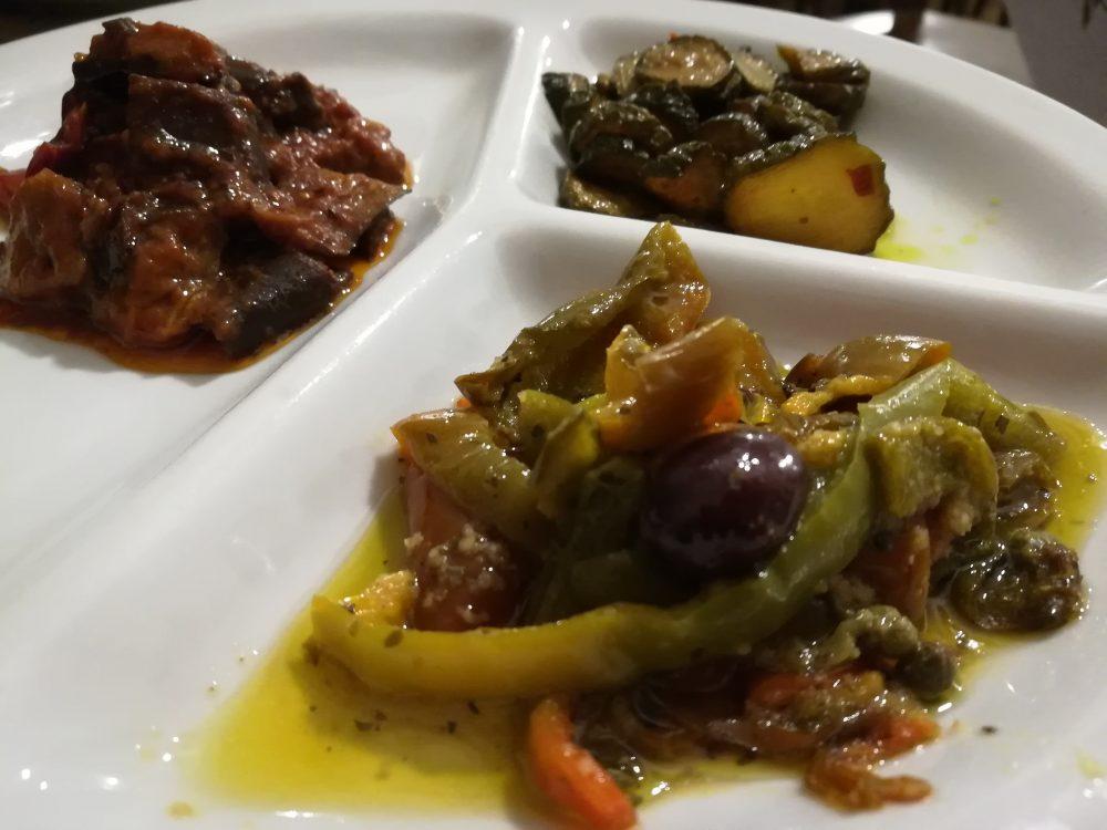 Braceria Sott'o' Portone - Le Verdure dell'antipasto