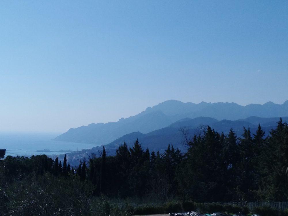Golfo di Salerno visto dal Ristorante Emozionando