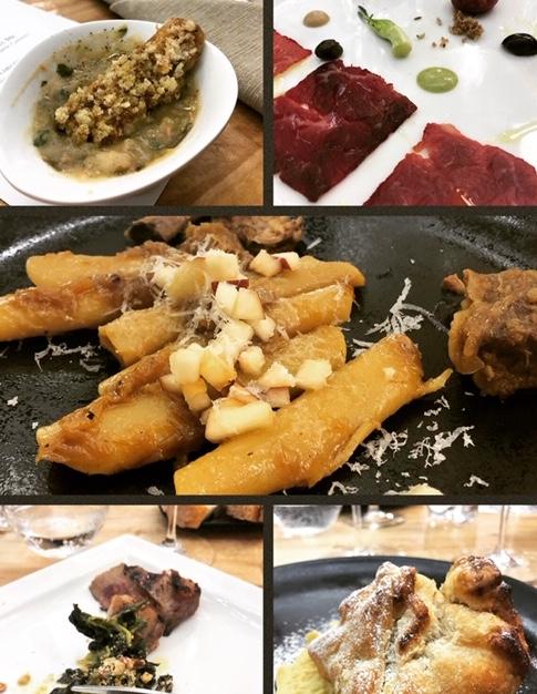 I piatti di Chiancheria Gourmet