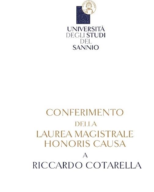 Laurea ad honorem all'enologo Cotarella: le testimonianze di Bruno Vespa, Luciano Pignataro e Domizio Pigna