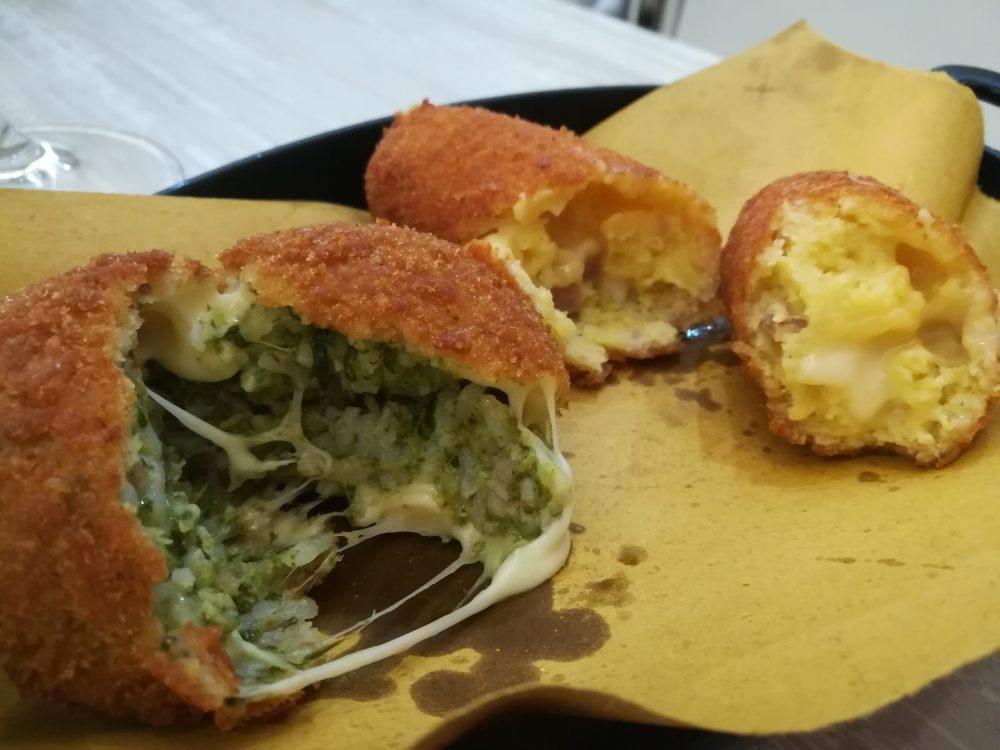 Braceria & Macelleria Dante -l'arancino ai friarielli