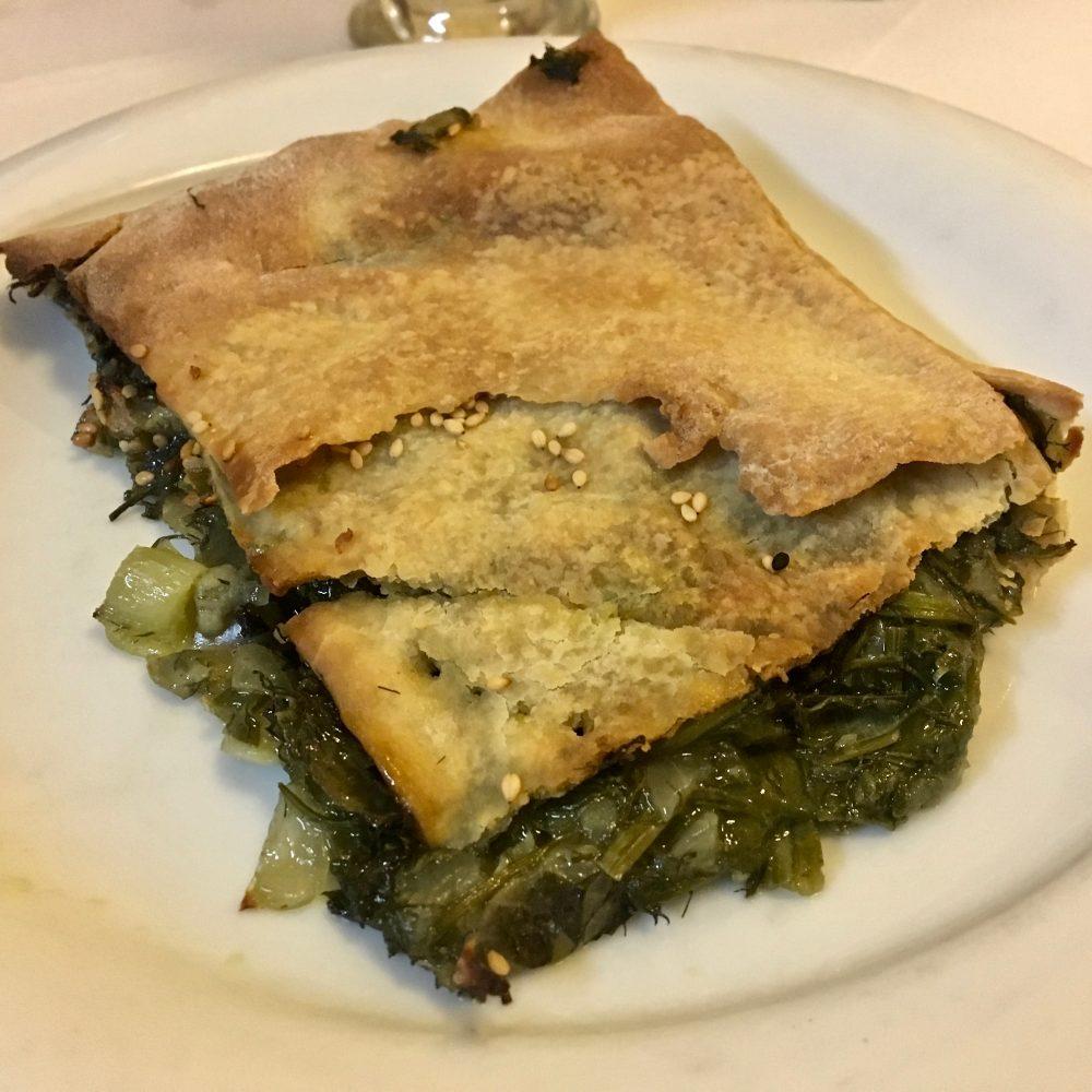 La Canea Vegan - Spanakopita vegan di To Stachi