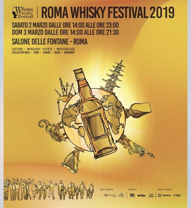 Locandina Roma Whisky Festival
