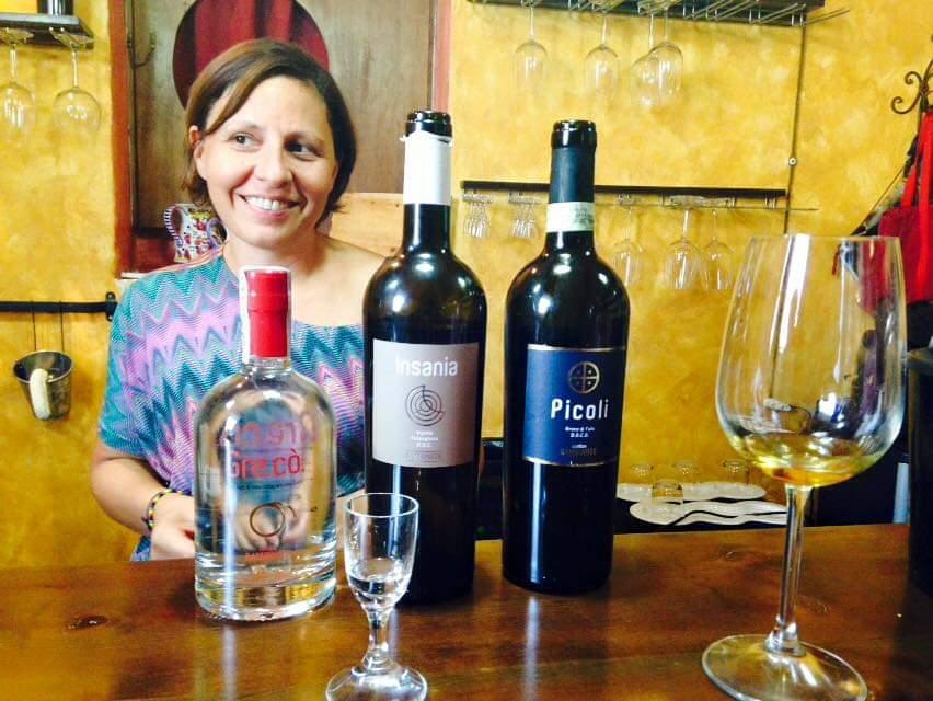 Marilena Aufiero e i suoi vini