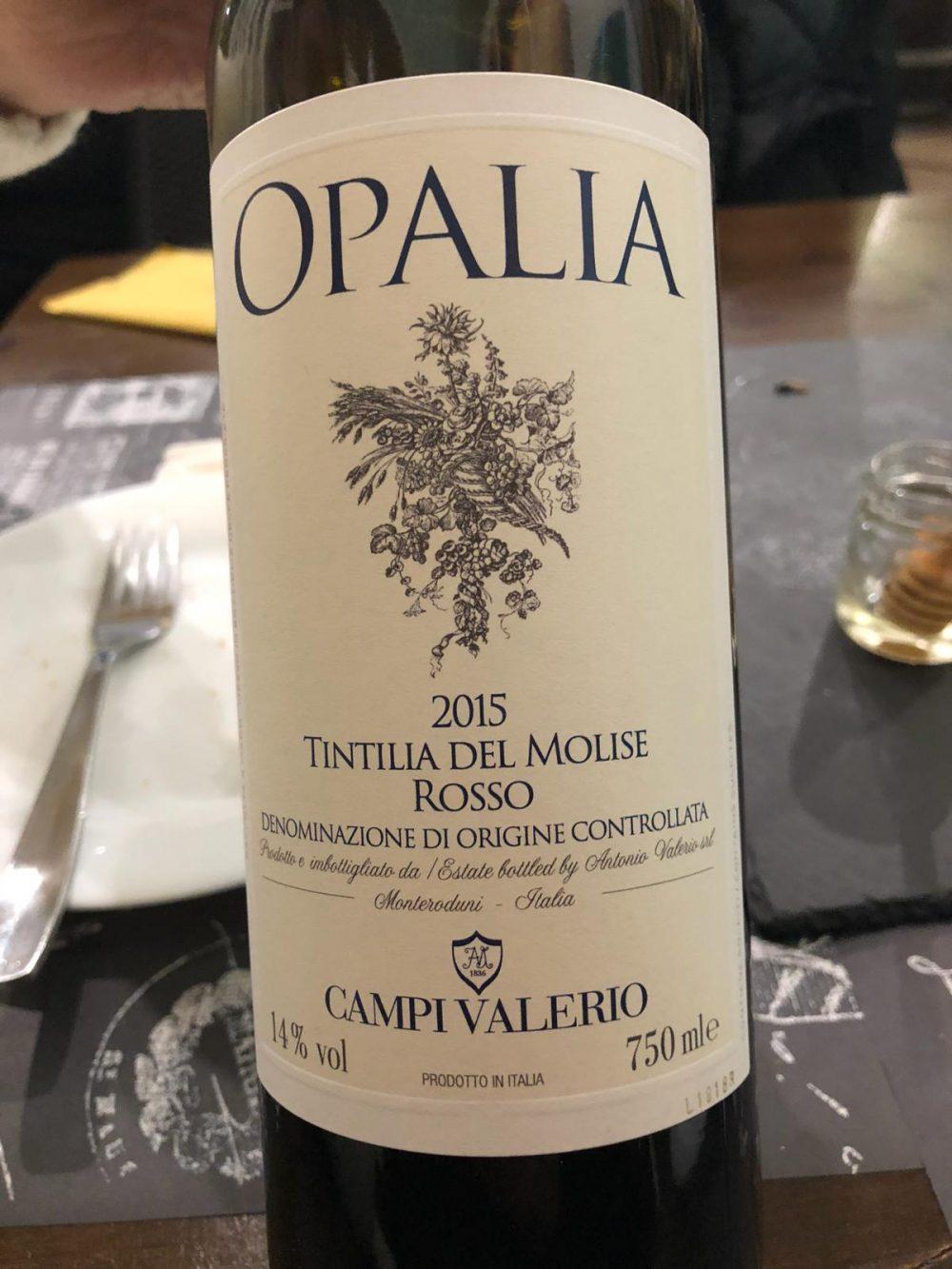 Opalia Tintilla del Molise 2015