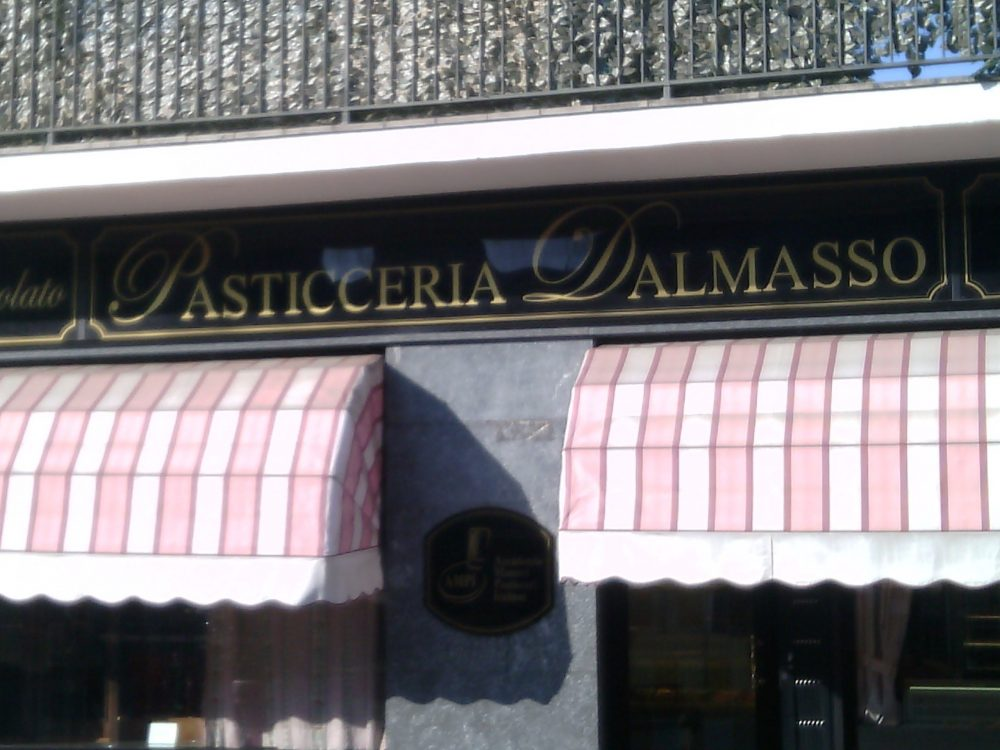 Pasticceria Dalmasso, l'entrata