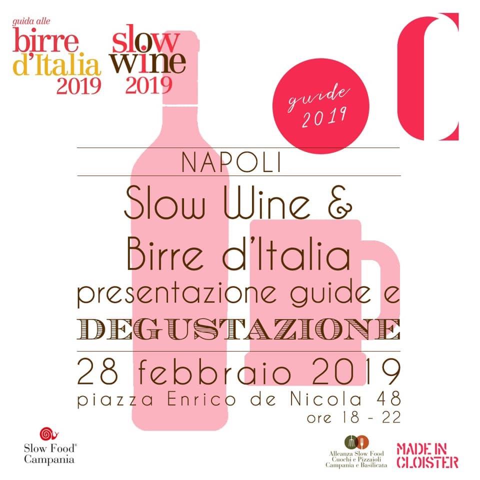 Presentazione della Guida Slow Wine a Napoli