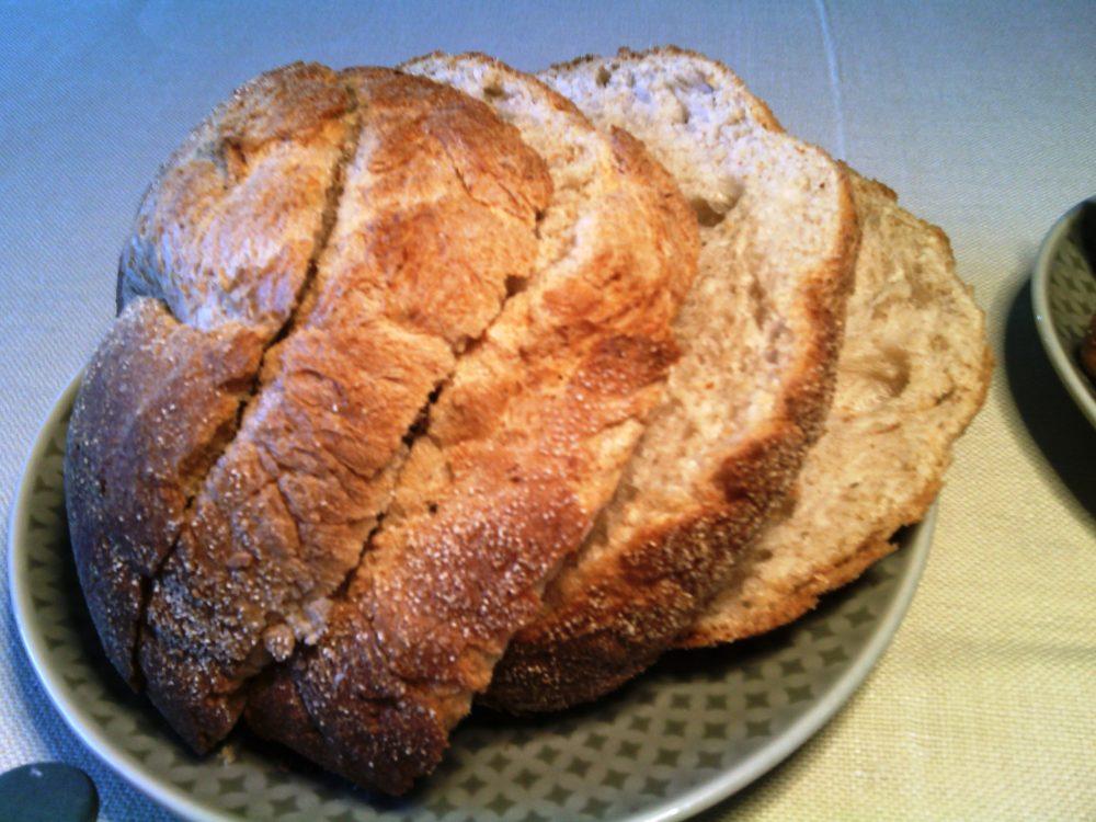 Ristorante Christian e Manuel, il pane integrale