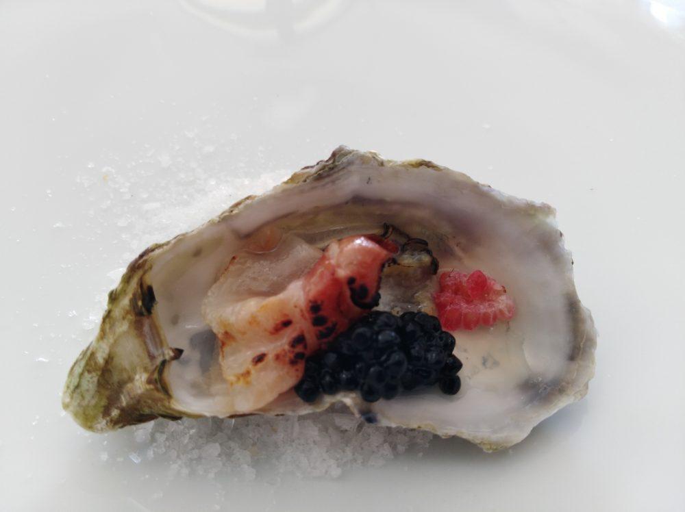Ristorante Emozionando Crudo di ostrica