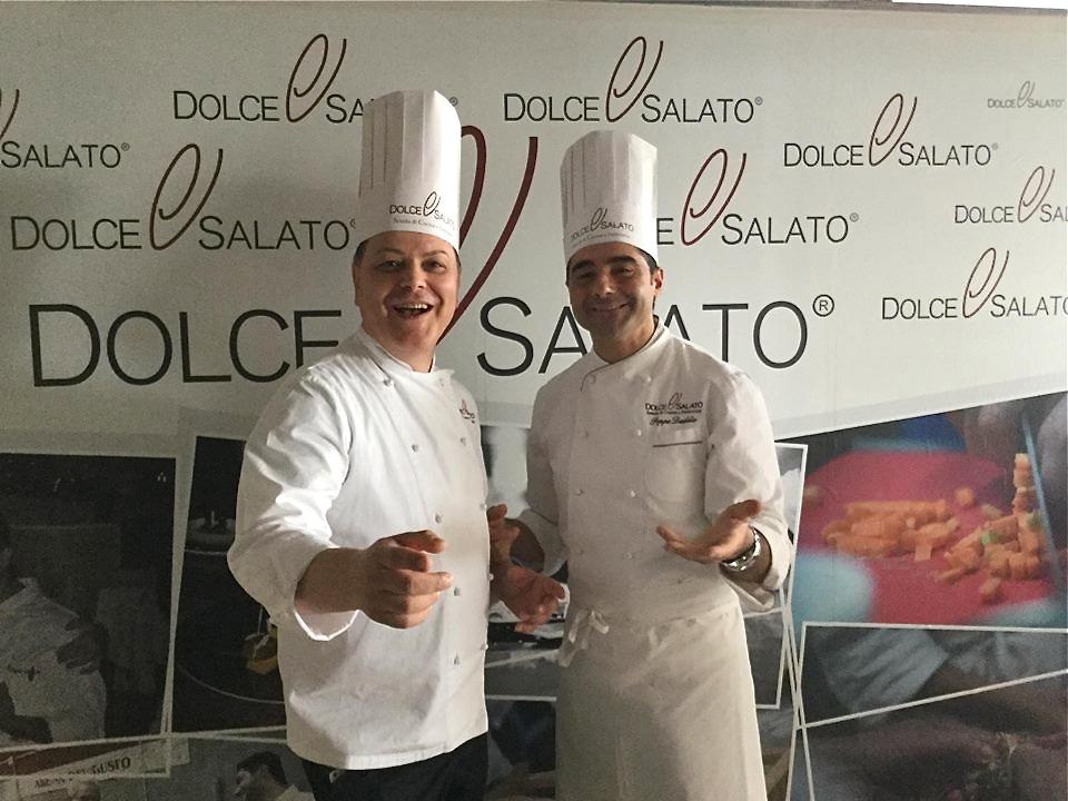 Scuola Dolce &Salato. Aniello di Caprio e Giuseppe Daddio