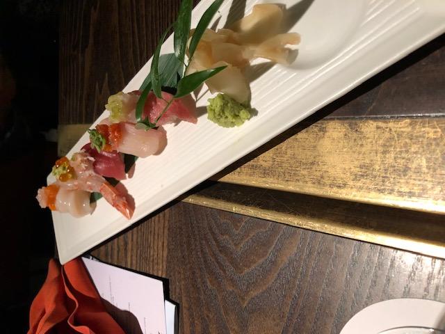 Selezione di Sushi di Nobu