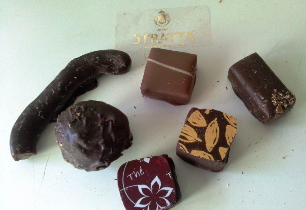 Stratta, assortimento di cioccolatini