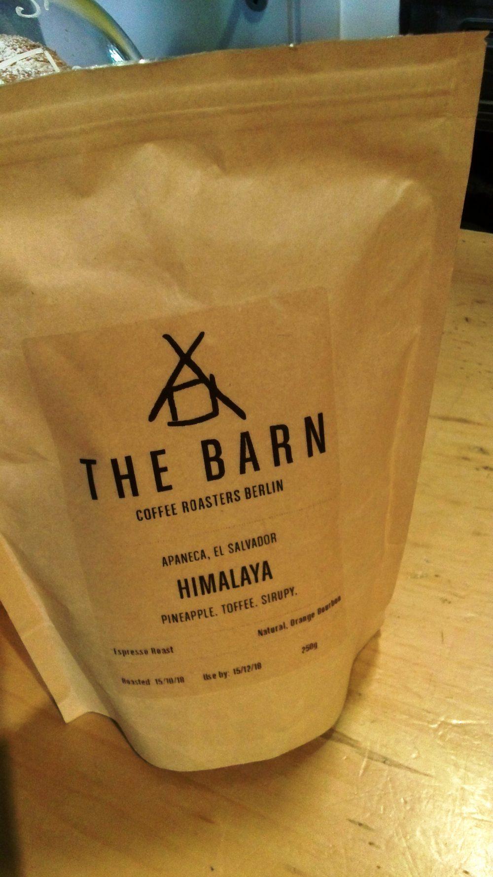 Ventimetriquadri, il caffe' selezionato, Himalaya The Barn
