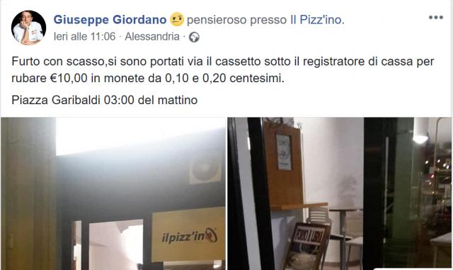 Il post di Giuseppe Giordano