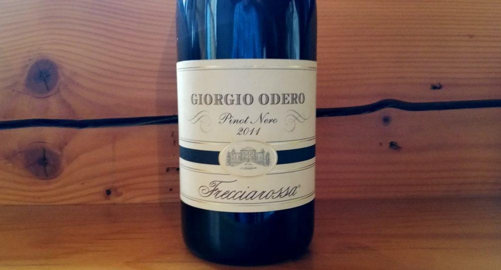 Pinot Nero dell'Oltrepo' Pavese DOC Giorgio Odero 2011, Frecciarossa