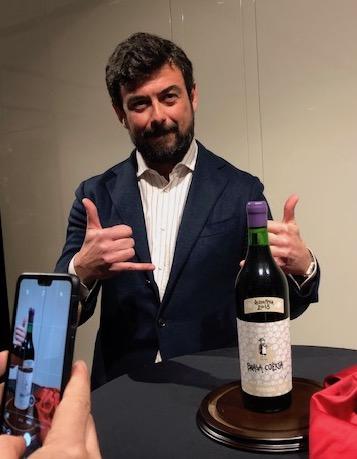 Riccardo Pasqua, Amministratore Delegato presenta Brasa Coerta Valpolicella DOCG 2018