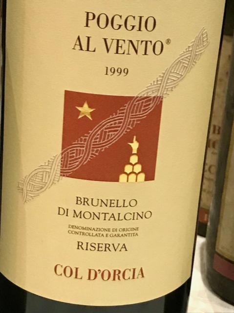 Col D'orcia Brunello di Montalcino 1979