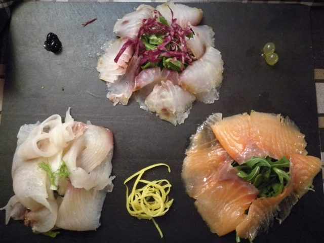 il pesce affumicato