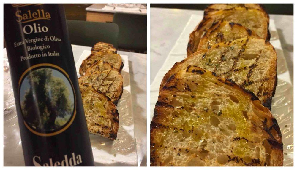 13 Salumeria e Cucina, pane e olio