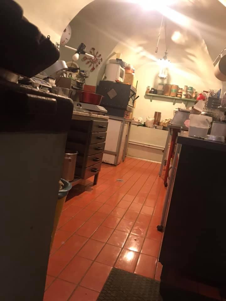 Drugstore della Stanza del Gusto, la cucina