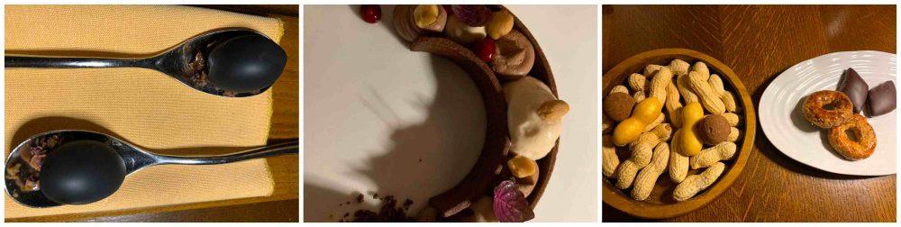 Caracol, - predessert le olive,il dolce e la frutta secca