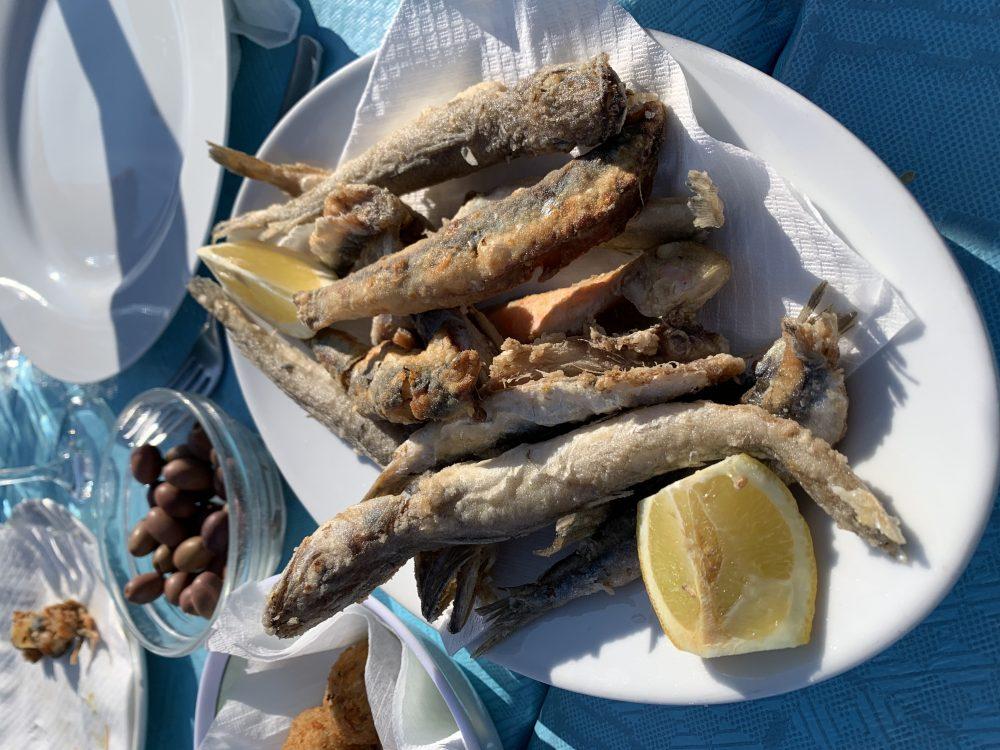 Alba Chiara - frittura di pesce