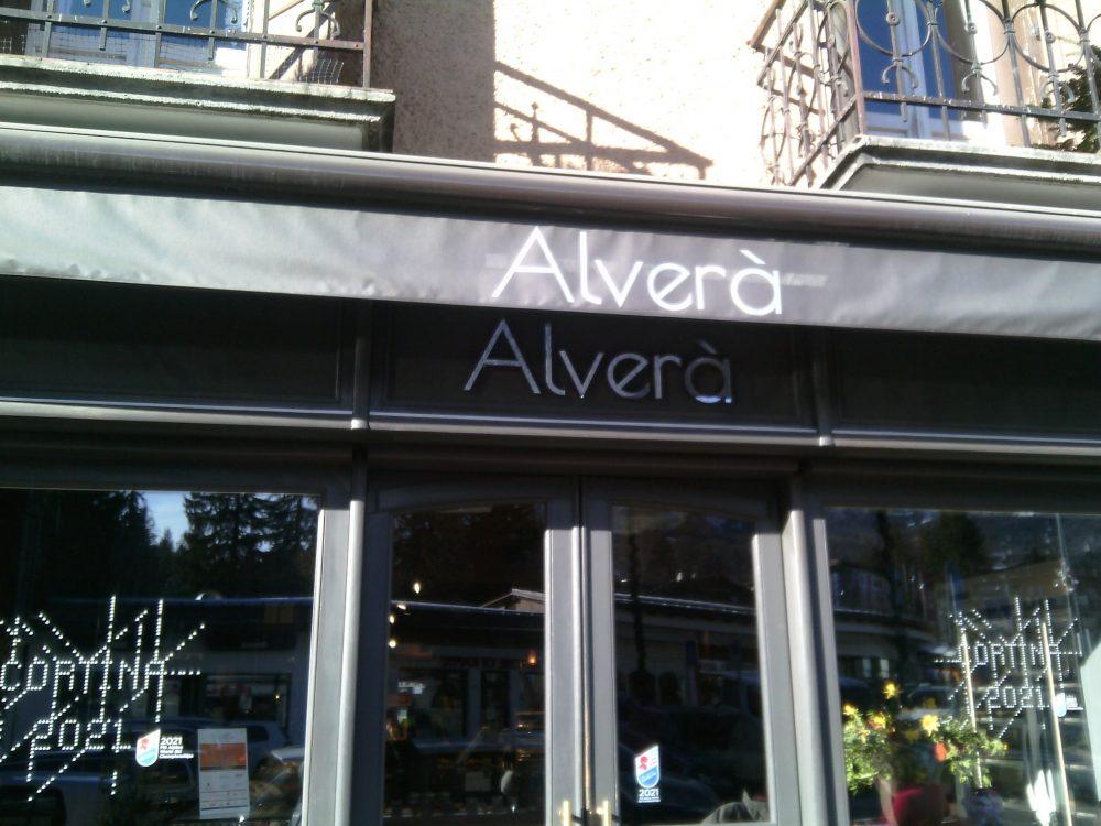 Alvera'- L'ingresso