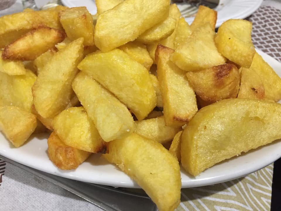 Antico Borgo Giffoni, patate fritte