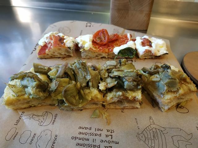 Bonci - La pizza con farine integrali