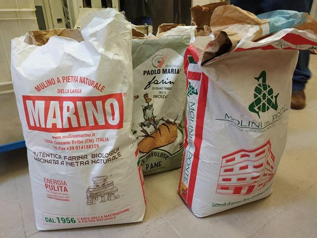 Bonci - le farine al laboratorio