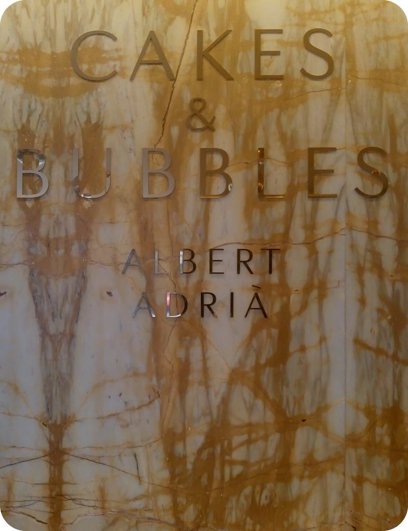 Cakes & Bubbles Albert Adria regent street London