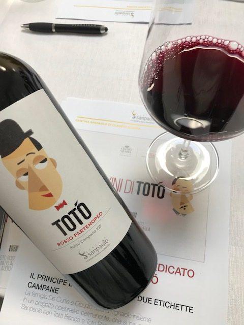 Cantina Sanpaolo - Toto' Rosso Partenopeo