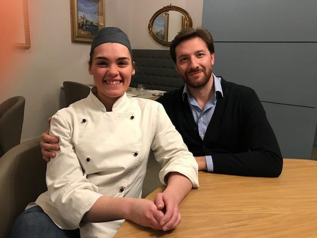 Chef Giusy di Castiglia e Vincenzo Damiano -uno dei proprietari