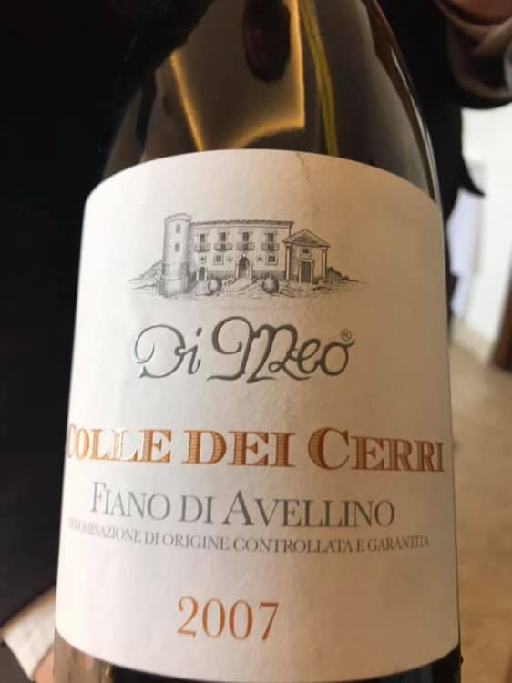 Colle dei Cerri 2007 Fiano di Avellino docg