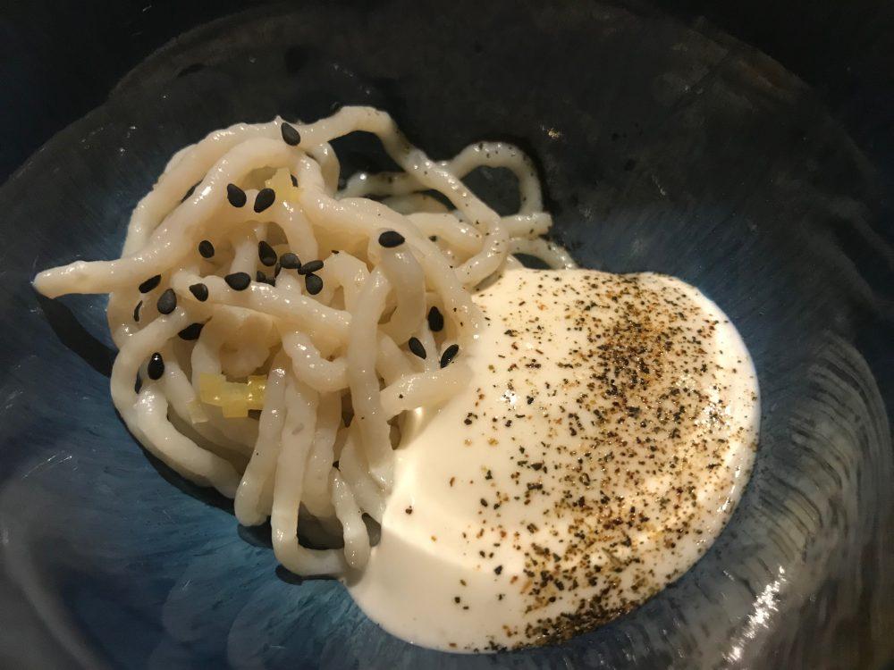 Contraste - noodles capesante e dashi