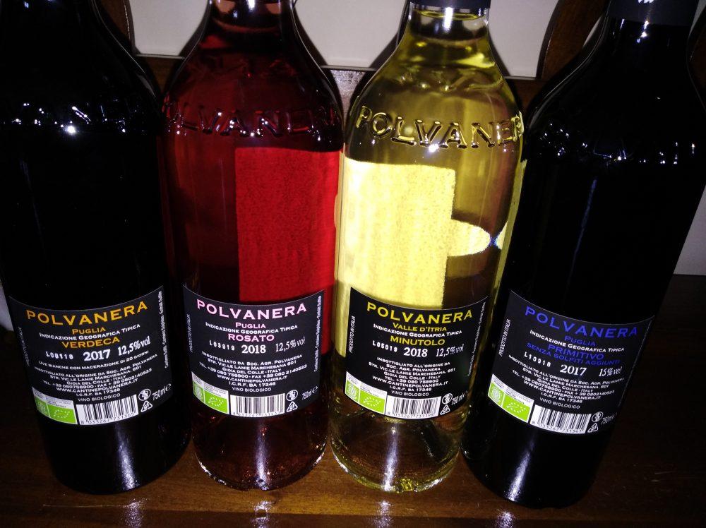 Controetichette vini di Polvanera