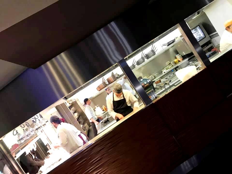 Hi-Res, La Cucina a vista