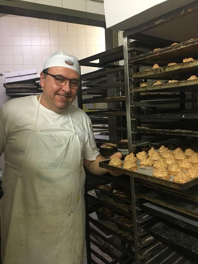 Fabio, il pasticcere del forno